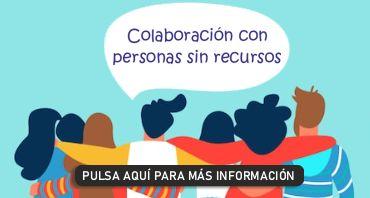 Colaboración personas sin recursos